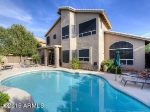 Large pool, Fireplace, undercover lounging areas. Completely private lot!