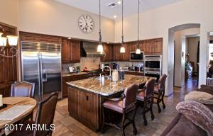 Remodeled dream kitchen complete with top of the line Sub-Zero fridge, and Wolf appliances