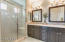 Large Shower with Builtin Seat