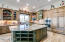 Huge Island, double ovens, warming drawer, built-in microwave, granite counters