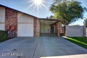 BLOCK WALL and private gated (dual) yard. Perfect for shaded car storage or patio furniture to enjoy cool Arizona days/nights!