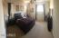 Master Bedroom with room darkening top down / bottom up blinds