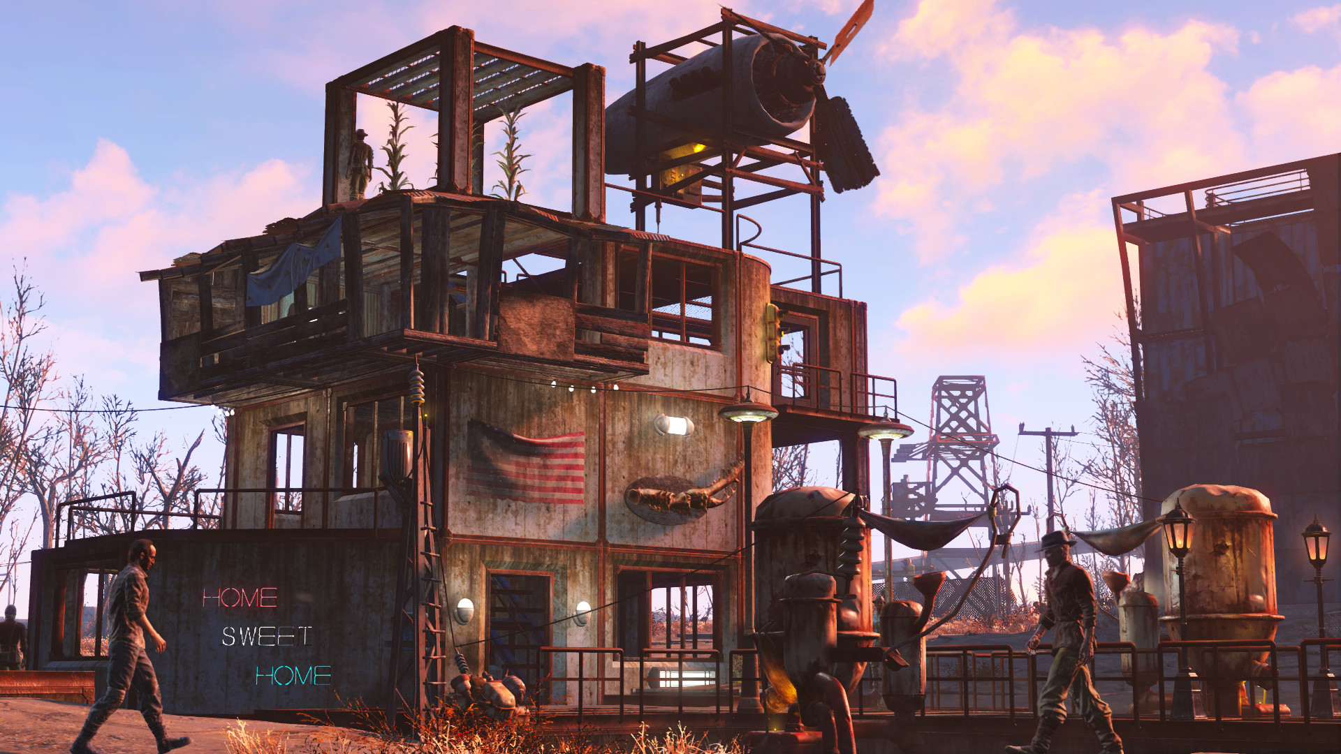 Natural Get Fallout 4 Diamond City House Ideas Fallout 4 Small House Ideas Get Yoursettlers To Fight Fallout Wasteland Workshop How To Build Arenas Wasteland Workshop How To Build Arenas curbed Fallout 4 House Ideas