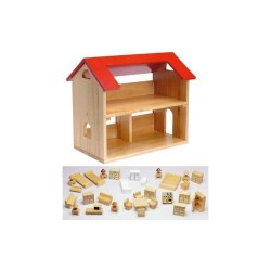 Small Crop Of Wooden Doll House