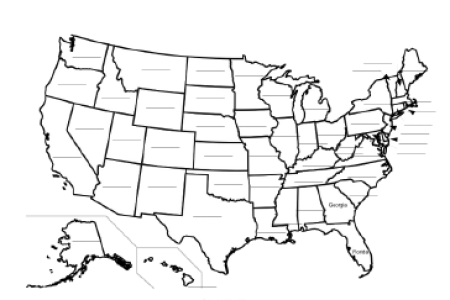 pics photos fill in the blank united states map