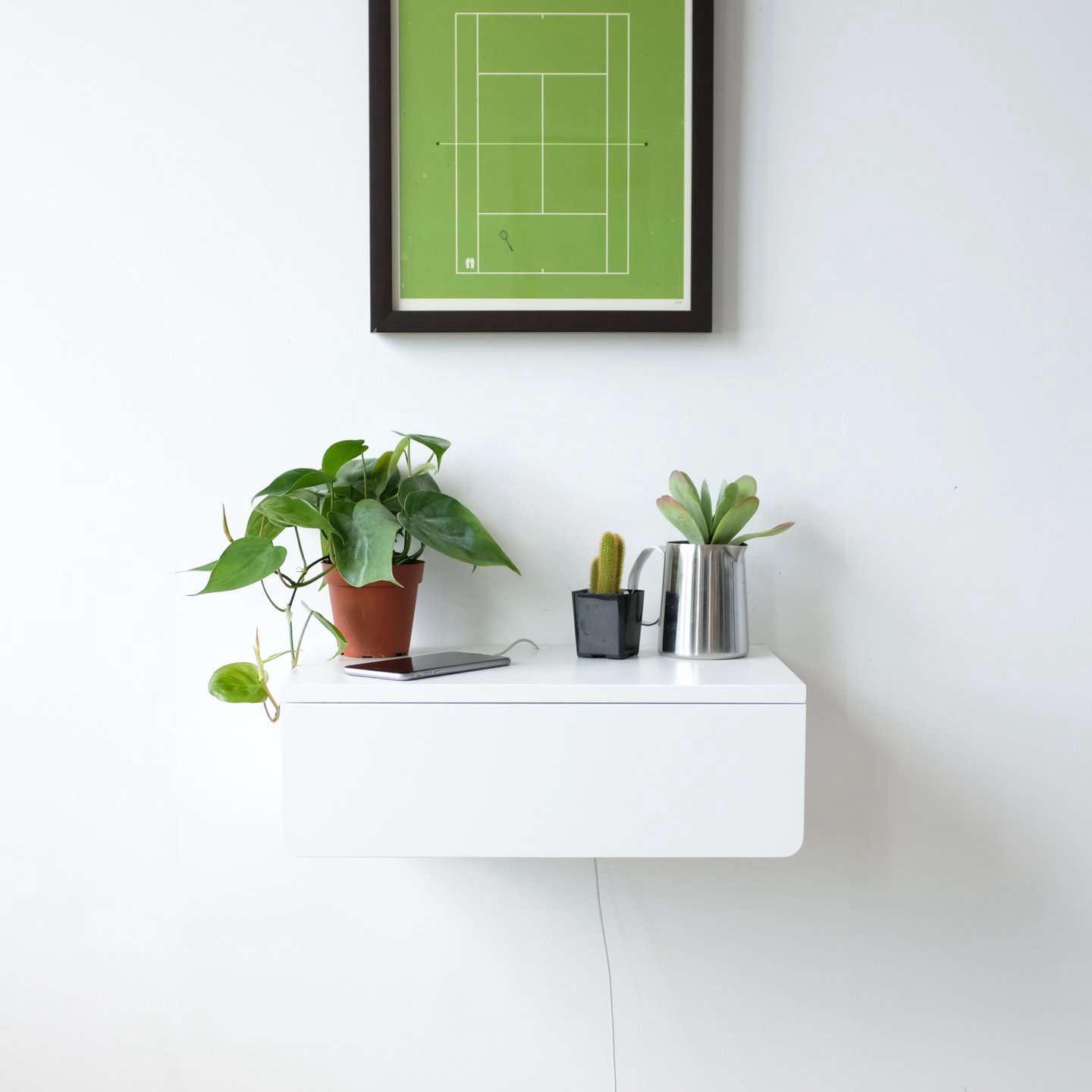 Magnificent Kroft Buoy Floating Nightstand Is Available Easy Bedside Shelves Drawers Remodelista Wall Mounted Nightstand Ideas Wall Mounted Nightstand Canada houzz-03 Wall Mounted Nightstand