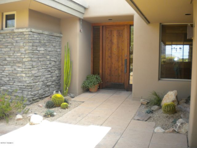 Front Entry to home