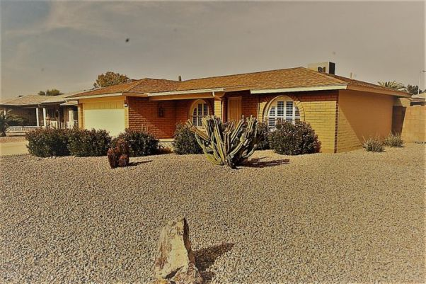 Front of Home - Desert Landscaping