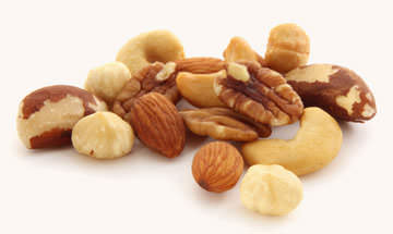 Different Nuts to Eat