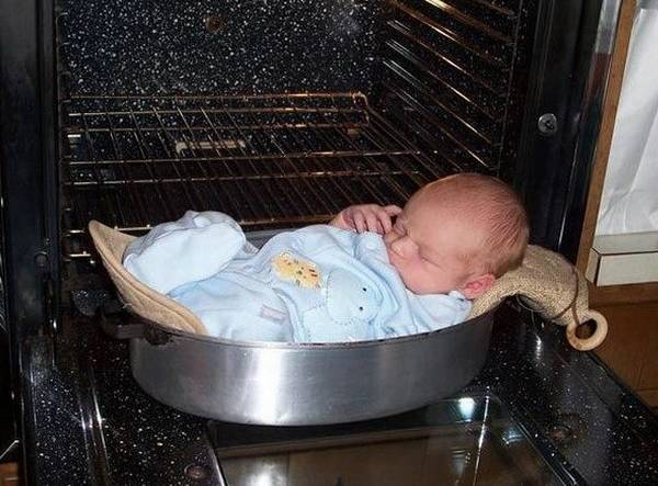 bad parenting baby oven The Worlds Worst Parents