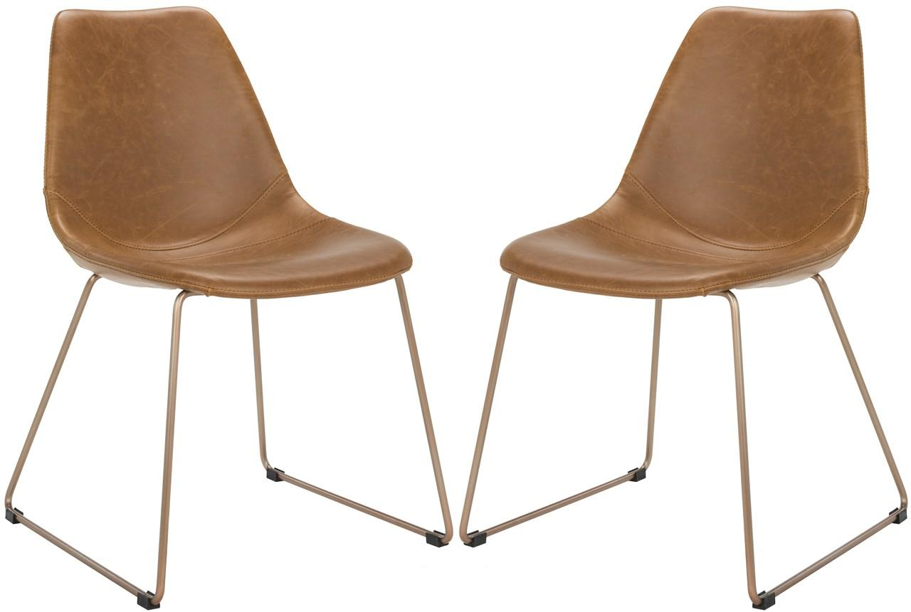 Imposing 4 Save Chairs Furniture By Safavieh Lear Chairs Arms Lear Chairs Set houzz-02 Leather Dining Chairs