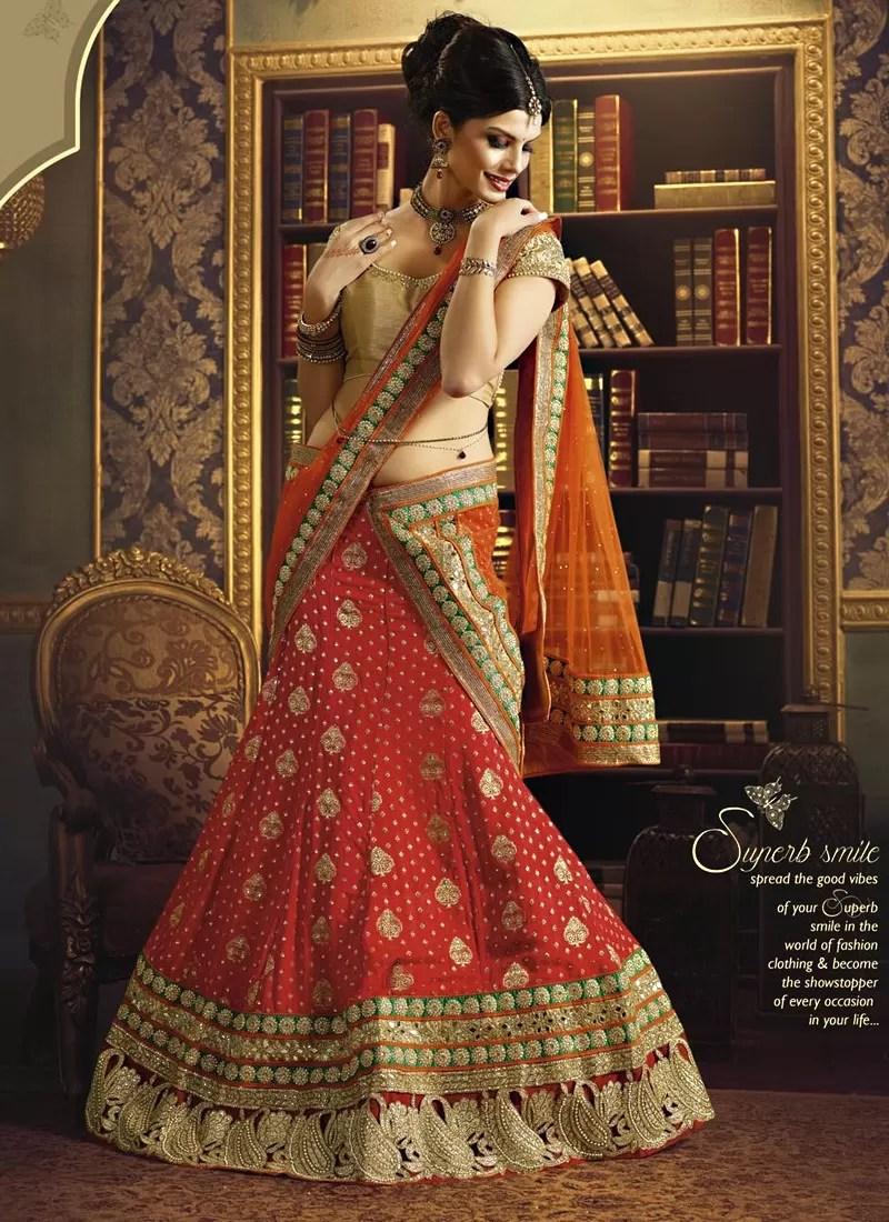 glorious maroon zari work wedding lehenga choli wedding lehenga Glorious Maroon Zari Work Wedding Lehenga Choli