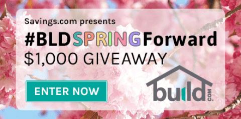 Build.com $1,000 Giveaway