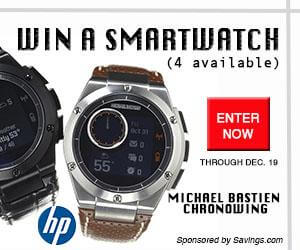 HP Smartwatch giveaway - $349 value