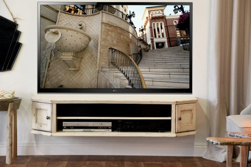 Medium Of Wall Mounted Tv Stand
