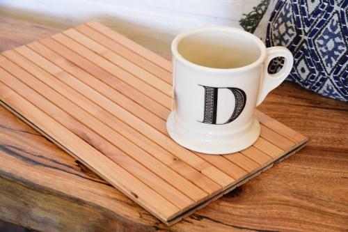 Fetching Sofa Tray Table Flexible Wood Slats Sofa Tray Table Flexible Wood Slats Woodwaves Wood Coffee Cup Shape Wood Coffee Cups