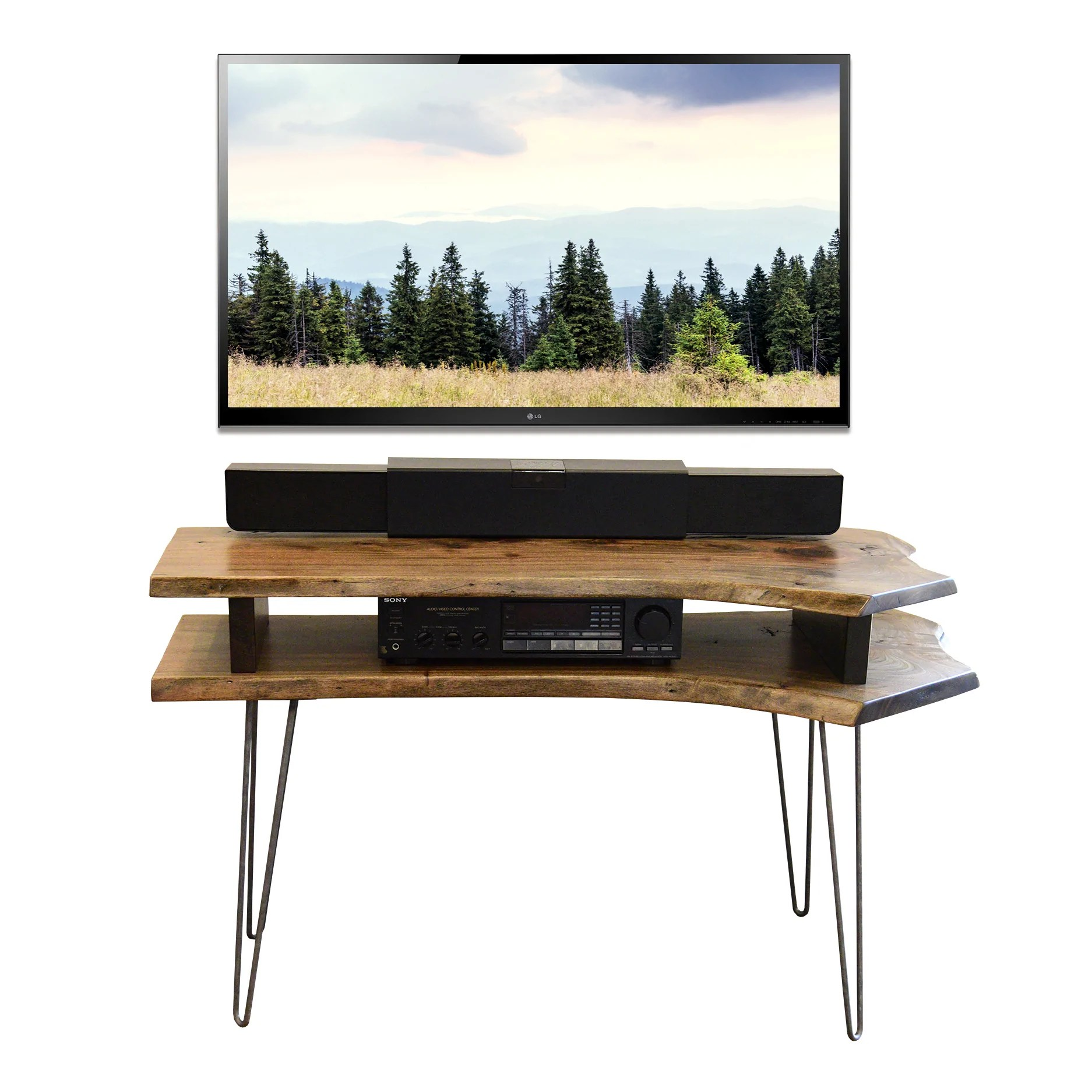 Gorgeous Live Edge Slab Mid Century Tv Stand Live Edge Slab Mid Century Tv Stand Woodwaves Mid Century Tv Stand Plans Mid Century Tv Stand Near Me houzz-03 Mid Century Tv Stand