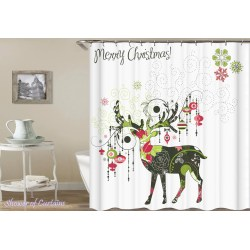 Small Crop Of Christmas Shower Curtains