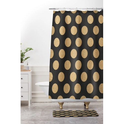 Medium Crop Of Gold Shower Curtain