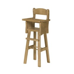 Small Crop Of Wooden High Chair