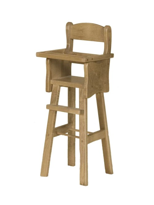 Medium Of Wooden High Chair