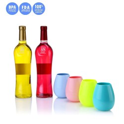 Small Of Rubber Wine Glasses