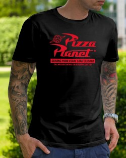 Small Of Pizza Planet Shirt
