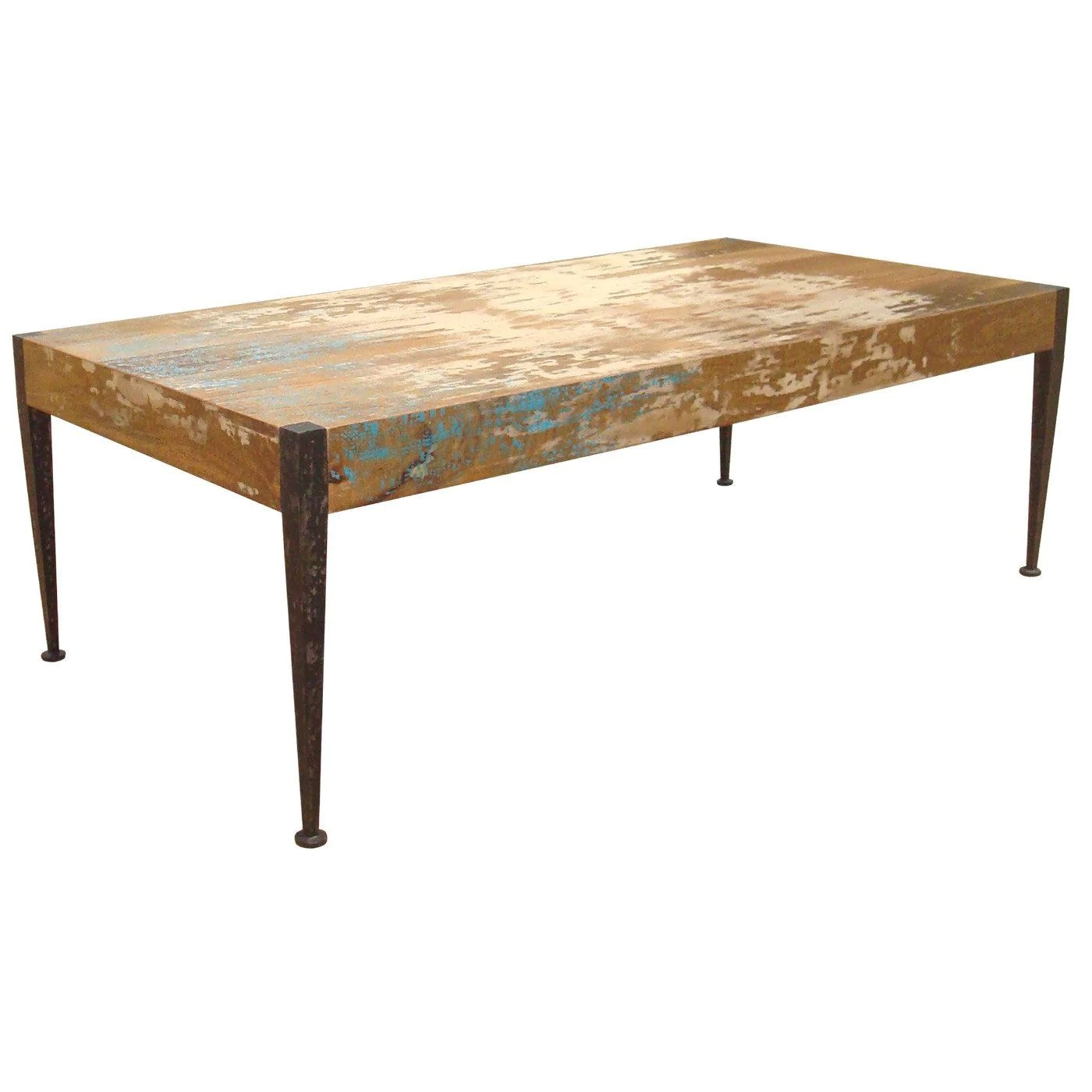 Alluring Coffee Tables Moes Home Collection Ax 1001 37 Astoria Rustic Industrial Unfinished Distressed Table Mango Wood Iron Leg 849043014946 711 Distressed Coffee Table Images Distressed Coffee Table curbed Distressed Coffee Table
