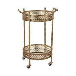 Small Of Gold Bar Cart