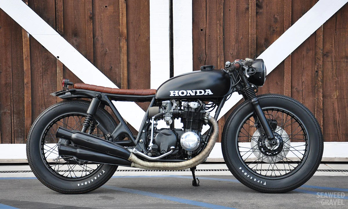 CB550 Custom Build by S&G builder Brady Young :: via Piston Brew