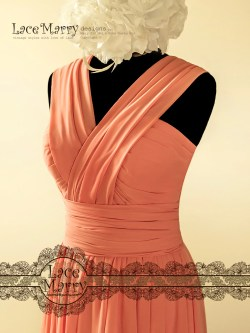 Small Of Coral Color Dress