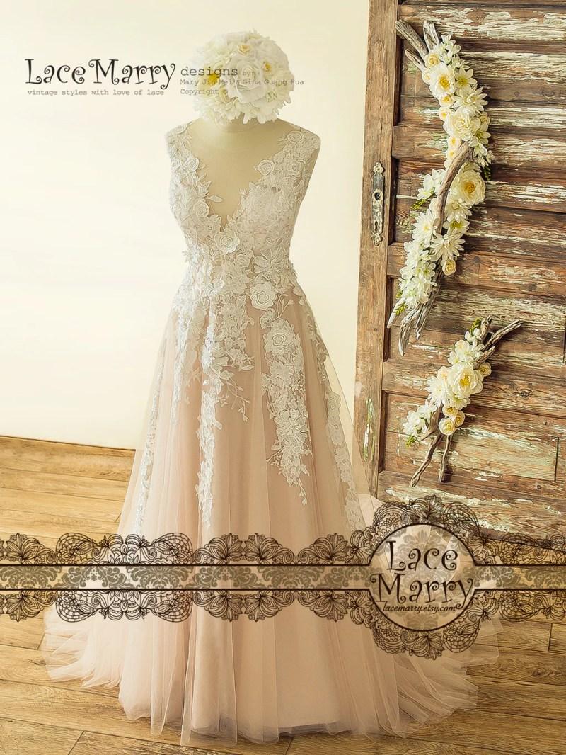 Large Of Vintage Lace Wedding Dress