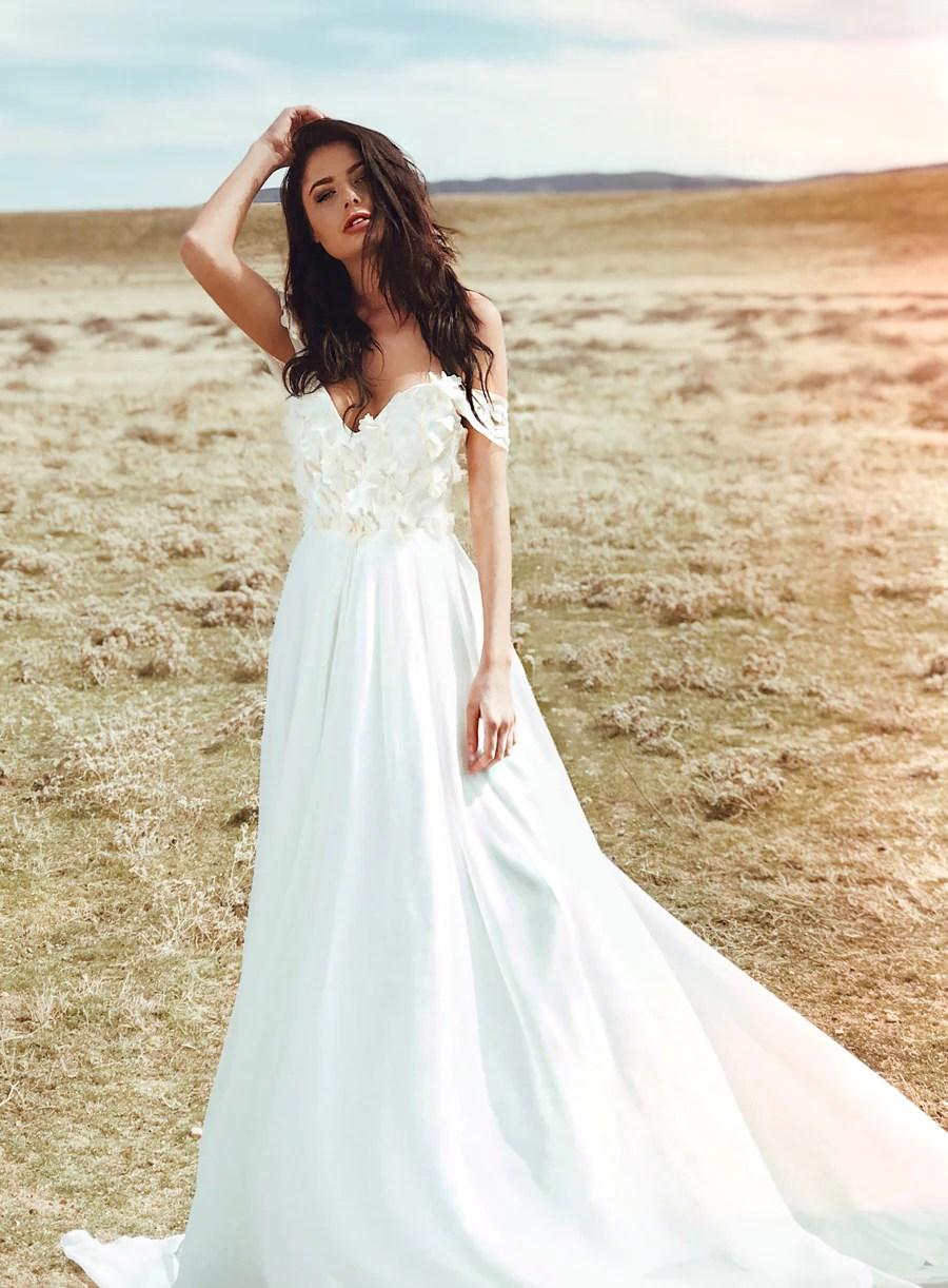 Fullsize Of A Line Wedding Dress