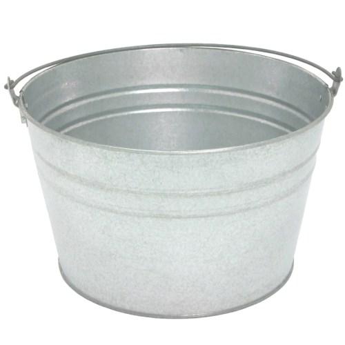 Medium Of Galvanized Wash Tub