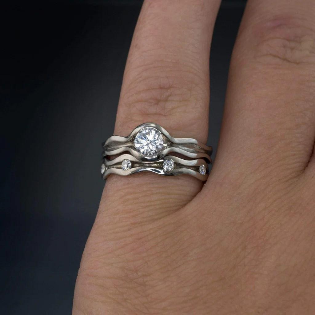 Men's Eternity Wedding Band eternity wedding band 3 40 ct Men s Round Cut Diamond Eternity Wedding Band Ring