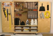 Makerspace in a Box (tools & cabinet)