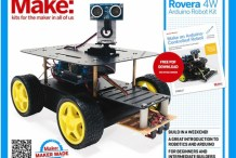 Make Rovera 4wd Arduino Robot Kit