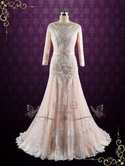 Small Of Drop Waist Wedding Dress
