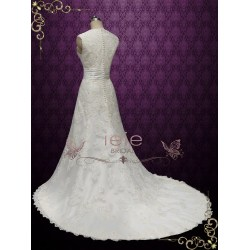 Small Crop Of Vintage Lace Wedding Dress