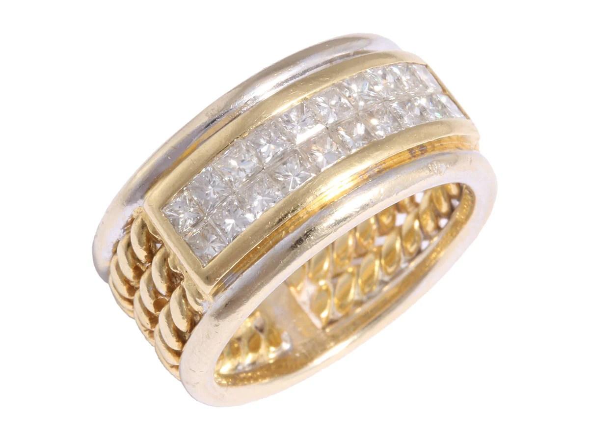 li k 04 le vian diamond band le vian wedding bands