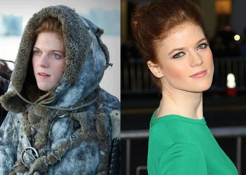 Inspired  Makeup tips from GOT s Rose Leslie     Redhead Revolution