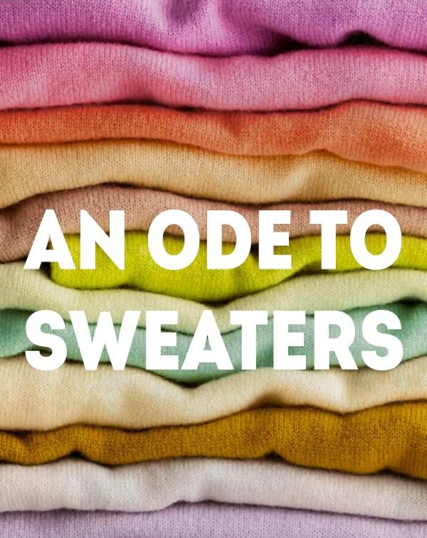 Styling sweaters fall 2015
