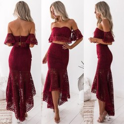 Small Crop Of Two Piece Dress
