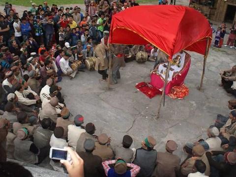 Celebrations at Osla's Someshwara Temple