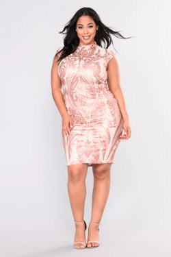 Small Of Rose Gold Dress