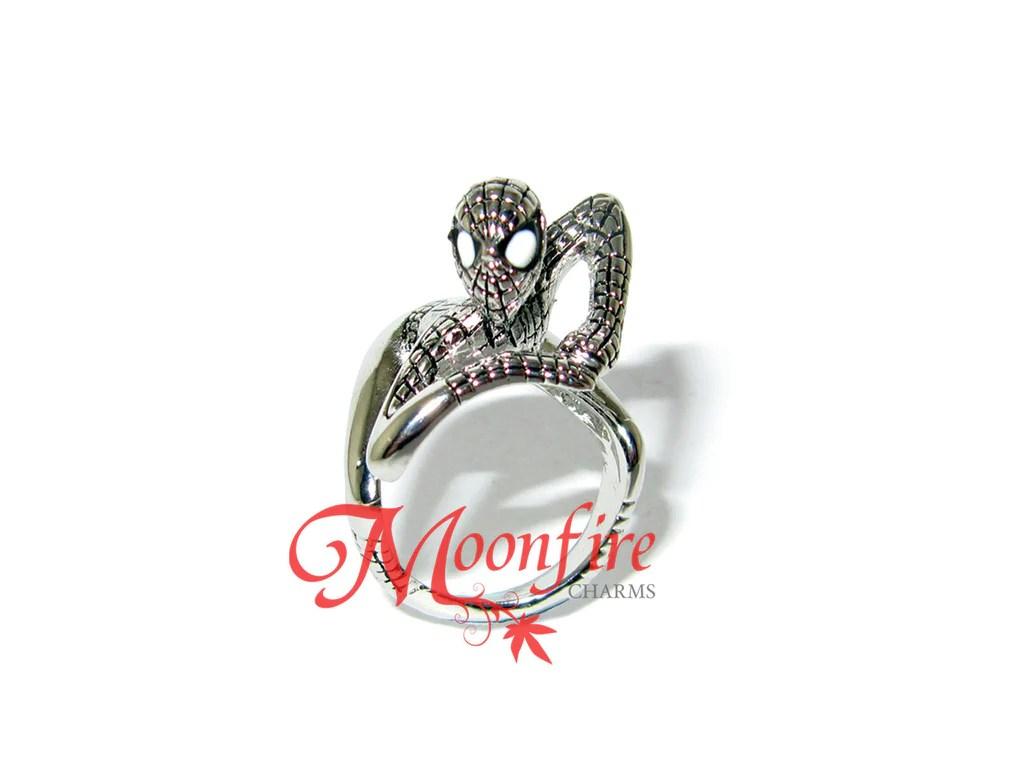 the avengers spiderman superhero ring spiderman wedding ring THE AVENGERS Spiderman Superhero Ring