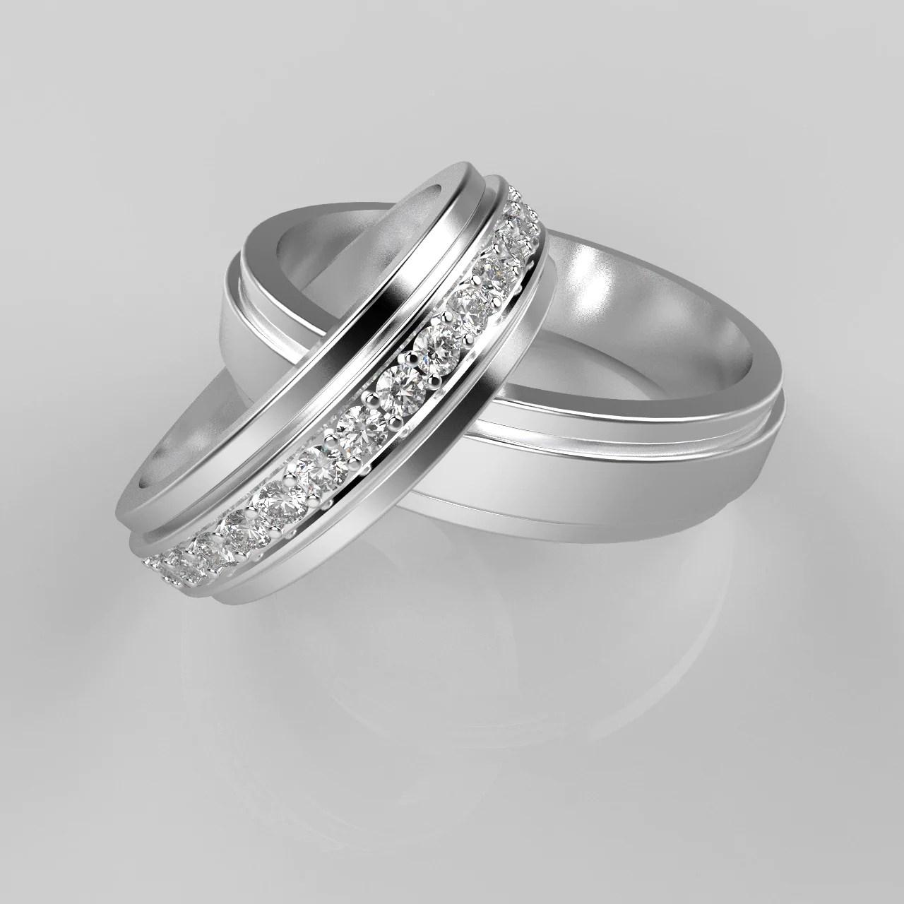 Fullsize Of Wedding Ring Vs Engagement Ring
