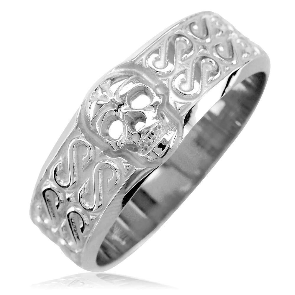skull wedding ring mens skull wedding rings Wedding goth ideas ideas and more ideas about HOW TO plan a Skull Engagement RingsSkull Wedding