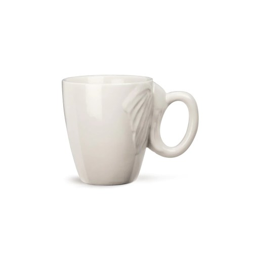 Medium Of Elephant Mug With Trunk Handle