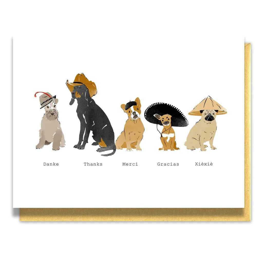 Fun World Thank You Note Dogs World Thank You Note Paper Luxe Thank You Dog Gif Thank You Dog Puns Dogs bark post Thank You Dog